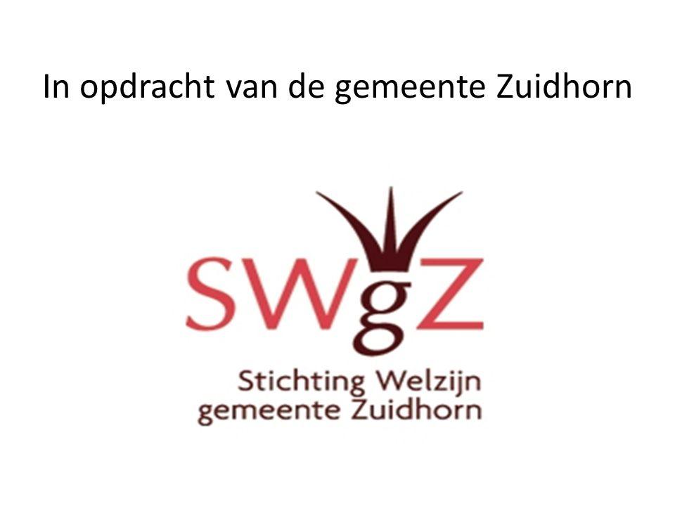 Doel VIOM • Uitkeringsgerechtigden met een grote afstand tot de arbeidsmarkt laten participeren in de samenleving, bij voorkeur in de Zuidhorn.