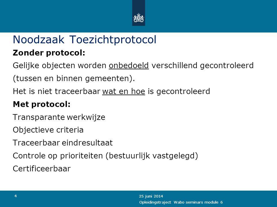 5 Wat is het Toezichtprotocol .Het toezichtprotocol beschrijft de wijze van toezicht.