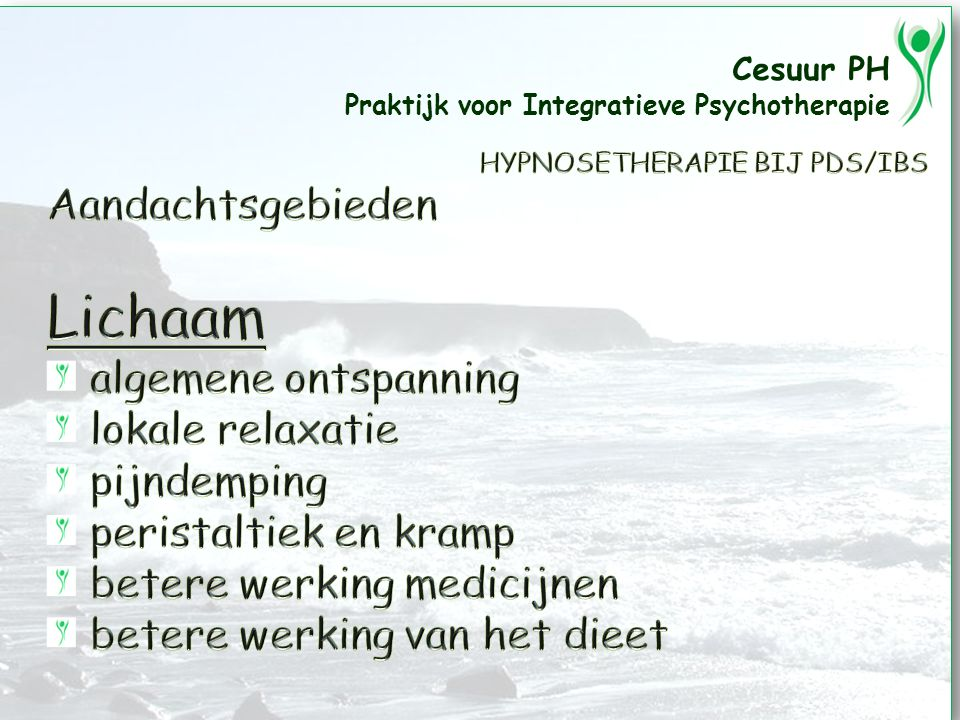 Cesuur PH Praktijk voor Integratieve Psychotherapie