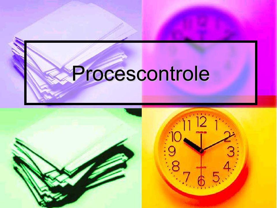 Definities en doel  Controle van processen met als doel de variabiliteit in output te beperken  Beperken van afval en productiekosten door een hogere procesefficiëntie  Verschuiving van controle van de procesoperator naar technologische procescontrole
