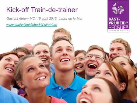 Kick-off Train-de-trainer