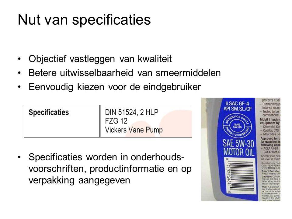 Oliemonsteronderzoek verontreinigingen analyse van slijtagemateriaal vloeistofeigen- schappen