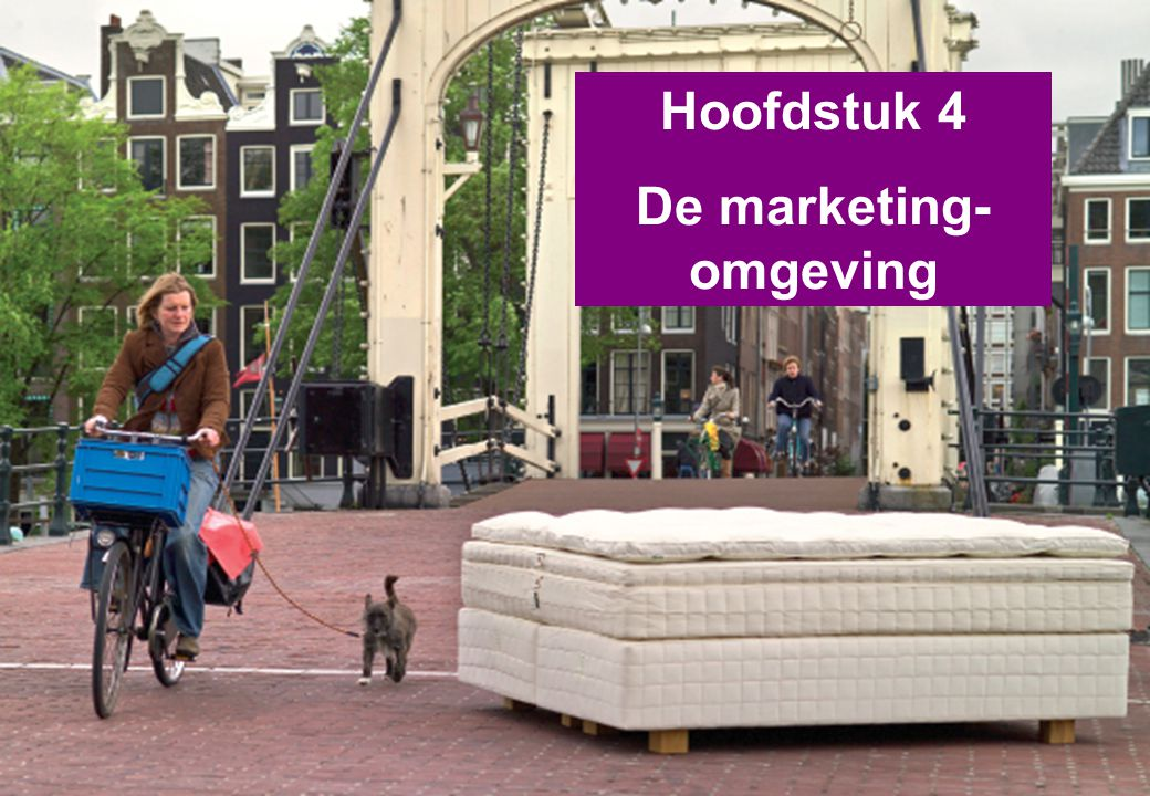 Marketingomgeving Principes van marketing - Hoofdstuk 4 2 Deel 1Deel 2 Markten Deel 3 Deel 4Deel 5Deel 6 Deel 7Deel 8Deel 9