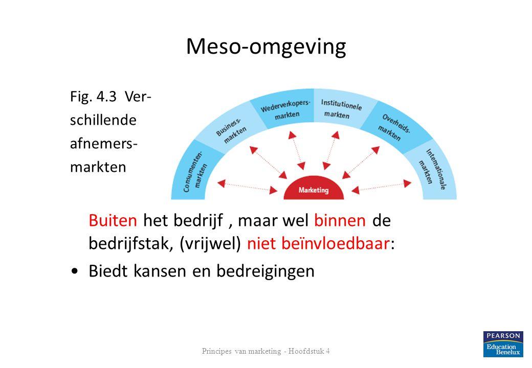 Gevolgen voor: • Unilever • Jumbo supermarkten (Van Eerd Food Group) • ABN-Amro (Bankzaken + verzekeringen) Principes van marketing - Hoofdstuk 4 11