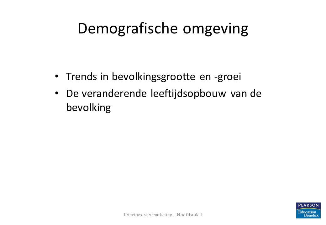 Demografische omgeving Principes van marketing - Hoofdstuk 4 16