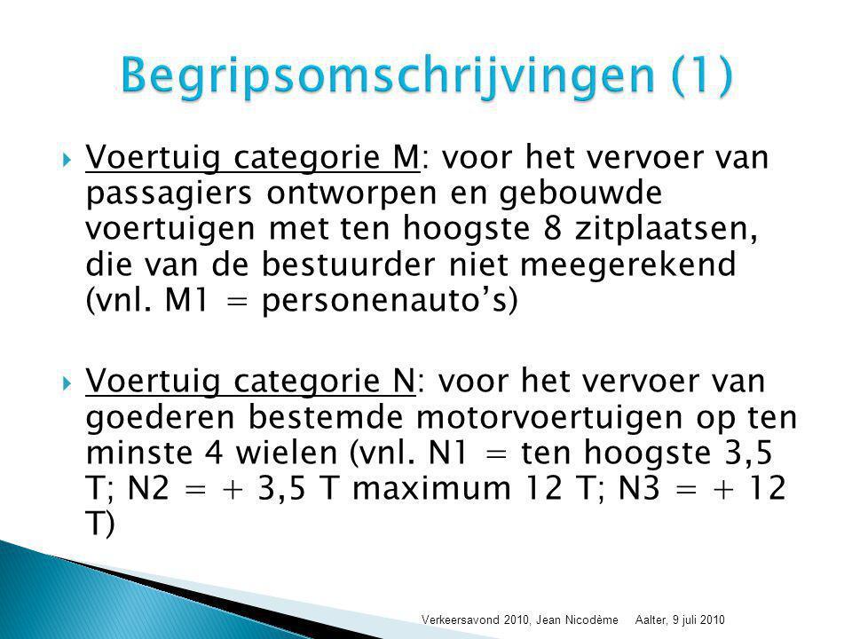  Voertuig categorie O: aanhangwagens (vnl.