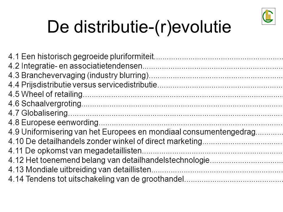 Historisch gegroeide pluriformiteit Industriële revolutie (19e eeuw): –Scheiding tussen consumptie en productie.