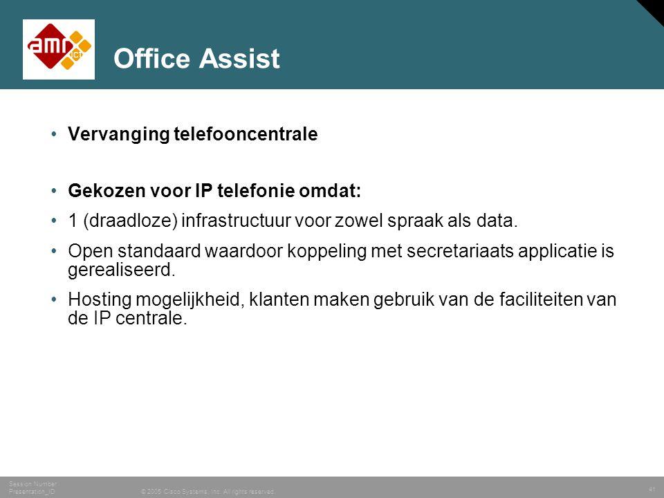 42 © 2006 Cisco Systems, Inc. All rights reserved. NL sales IP-C V1.2 BDM/Nederlands Vragen?