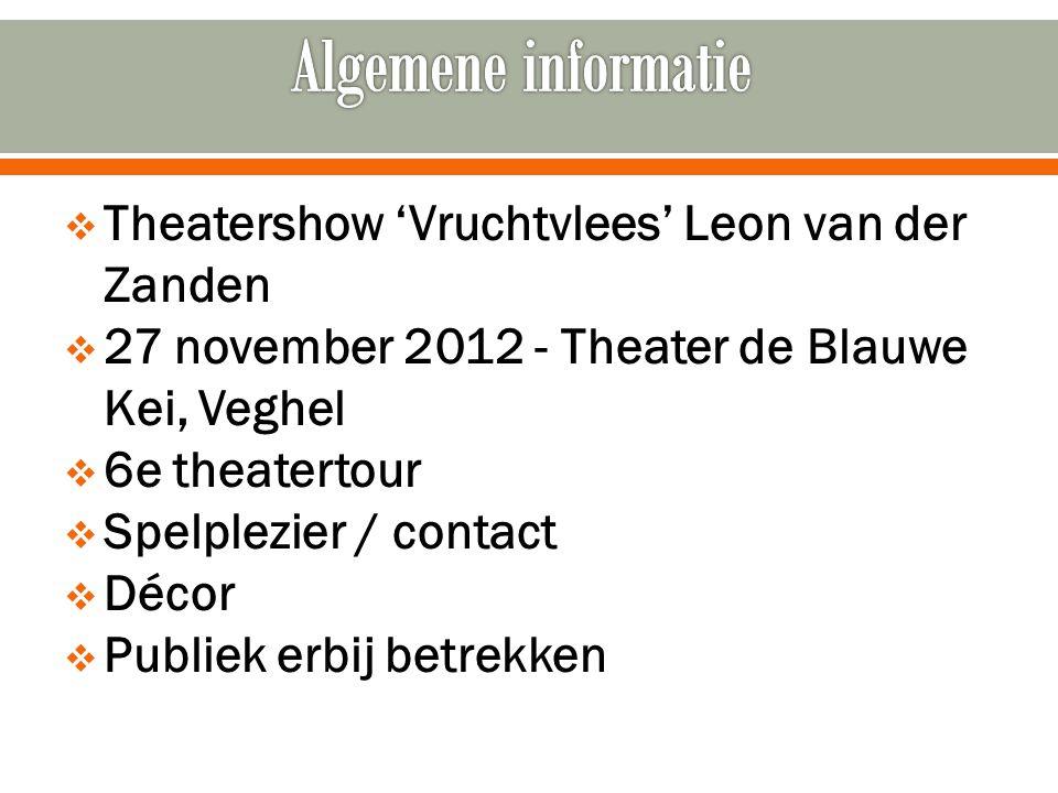  Locatietheater  Interactief theater  Fysiek theater