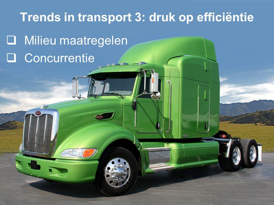 6/19 Trends in transport 4: toepassing ICT  Ontwikkelingen:  Internet  GPS  Elektronische markten  Als gevolg hiervan zien we een toenemende belangstelling in real-time online planning en besturing van transport  Online: via het Internet  Real-time: direct reageren op binnenkomende informatie