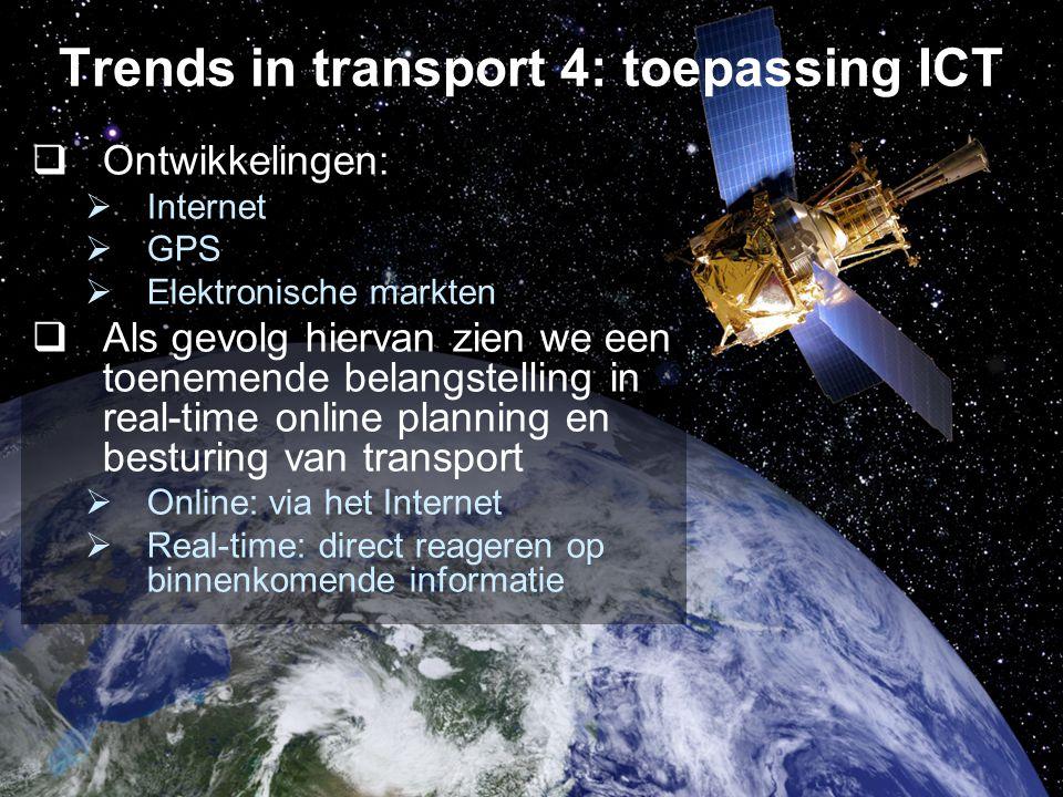 7/19 Motivatie  Deze trends hebben geleid tot een toenemende behoefte aan methoden voor real-time besturing van transport  Dit kan centraal of decentraal…