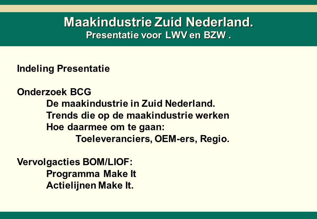-1- 26218-02-SC6ZNcol-27Mar02-EDr-AMS.ppt Copyright © 2002 by The Boston Consulting Group, B.V.