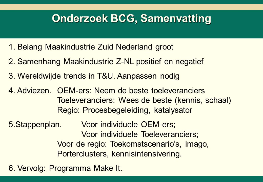 -4- 26218-02-SC6ZNcol-27Mar02-EDr-AMS.ppt Copyright © 2002 by The Boston Consulting Group, B.V.
