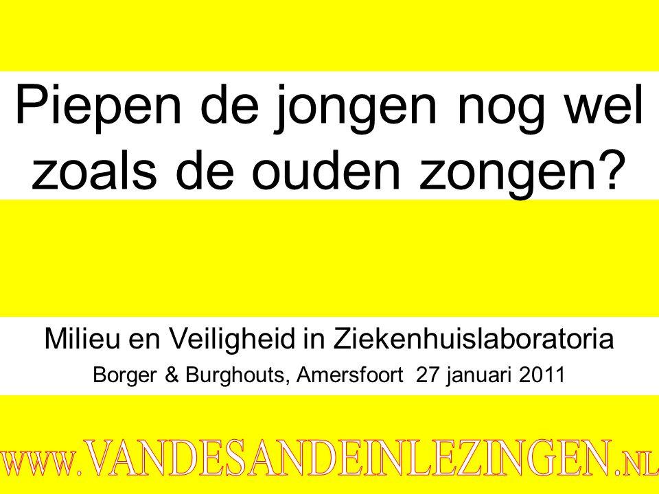 ©vandeSandeinlezingen,2011 Waar gaan we het over hebben.