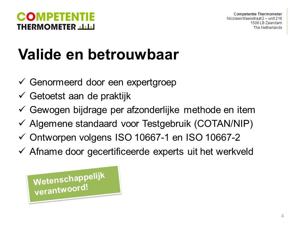 Competentie Thermometer Nicolaes Maesstraat 2 – unit 216 1506 LB Zaandam The Netherlands Topkwaliteit rapportage 5 € 24, 99