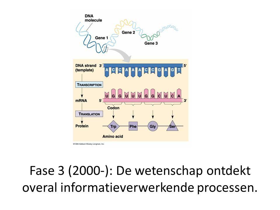 Computing is een rij van representaties waarbij elke overgang gecontroleerd wordt door een representatie.
