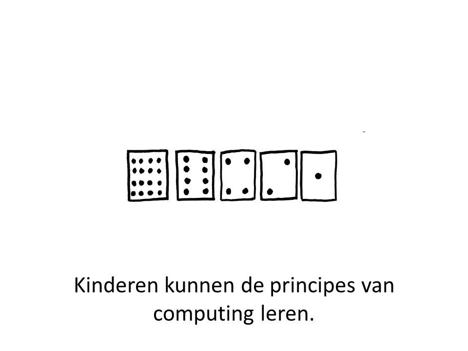 Kaarten representeren (binaire) nummers.