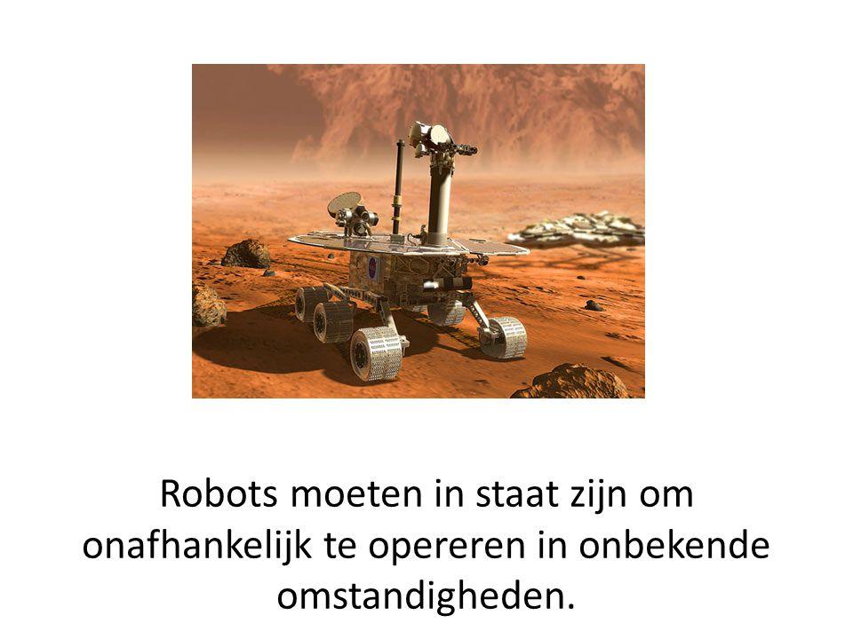 Humanoide robots voldoen op dit moment nog niet echt aan deze eis.
