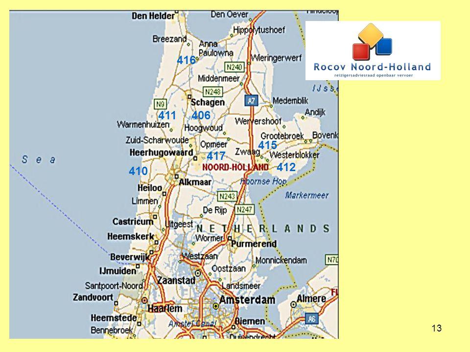 14 Nieuwe buurtbusprojecten sinds 2012 Buurtbus Heiloo Egmond 408 Buurtbus Grootebroek Venhuizen Hoorn 412 Buurtbus Bloemendaal Santpoort 481 Buurtbus Medemblik Twisk Wognum 413