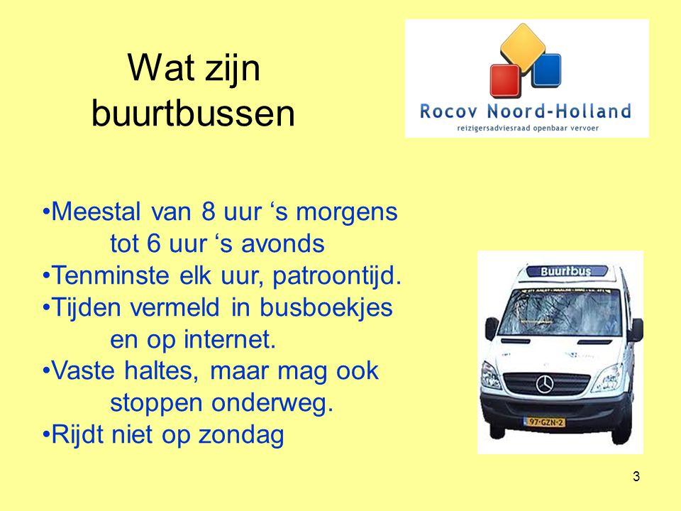 4 Ander kleinschalig openbaar vervoer.Regiotaxi/OV-taxi.
