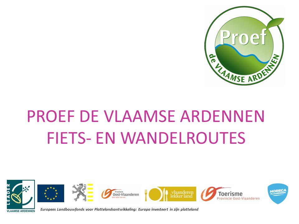 = 3 fietsroutes en 1 wandelroute op het knooppuntennetwerk, elk met een culinair thema: -Zoete Hoeve route - Oud Bruin route -Water route - Picknick route