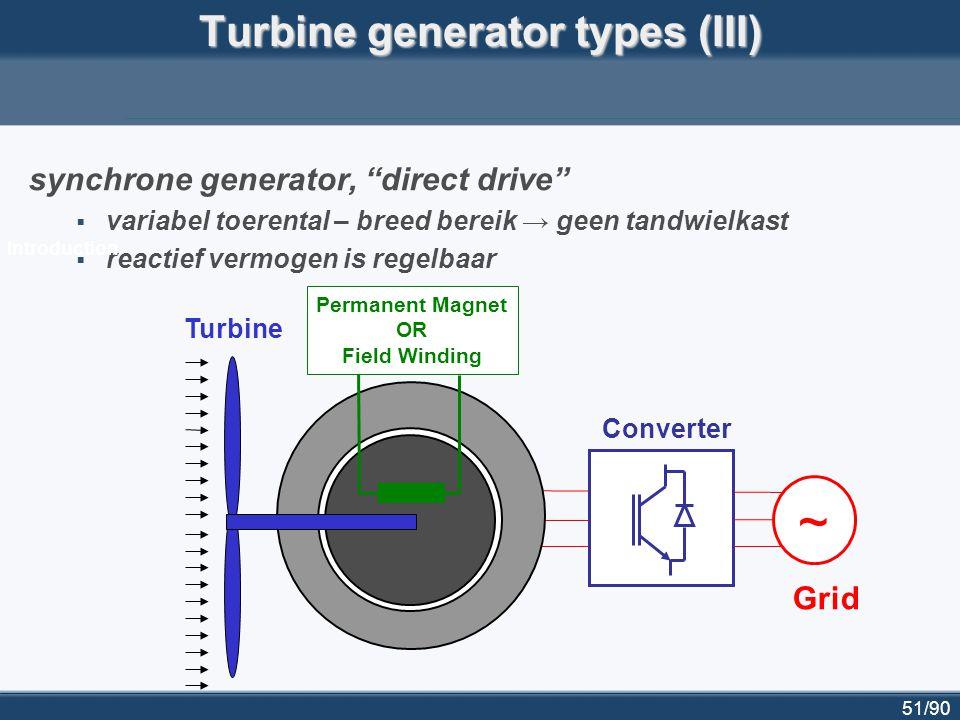 52/90 Dynamische modellering van windturbines voor 'power system simulation software' voor gebruik in software voor dynamische simulatie van elektriciteitsnetten (vb Eurostag, Digsilent...):  simulatie van kortsluitingen, belastingsstrappen, schakelmanoeuvres...