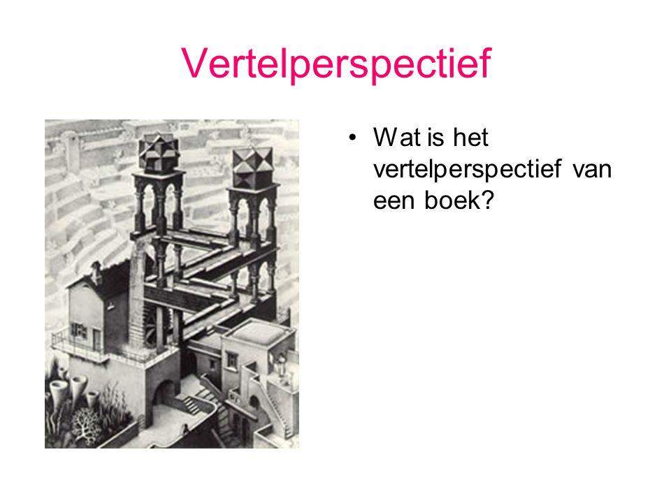 Vertelperspectief Welke soorten perspectief ken je nog.