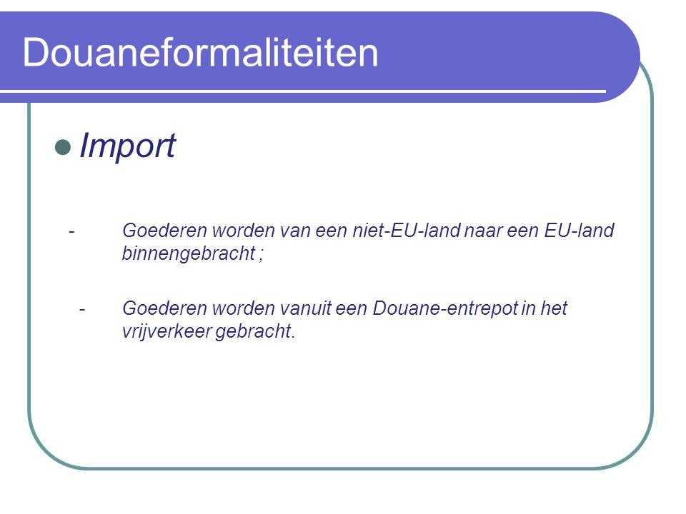 Douaneformaliteiten Import Er zijn altijd bepaalde douanetechnische handelingen vereist en bij de verkeerde afhandeling kunnen de boetes hoog oplopen.