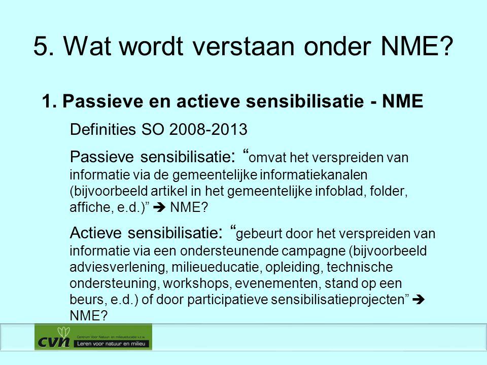 6.Criteria NME-project (projectniveau) 2.