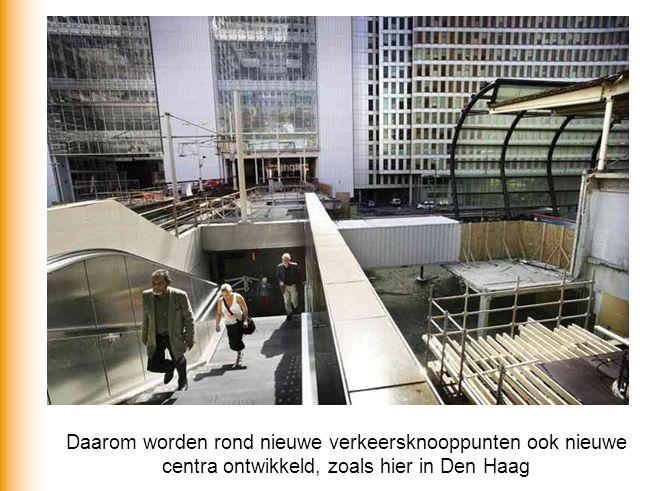 Nieuwe infrastructuur en nieuwe stations (bv.
