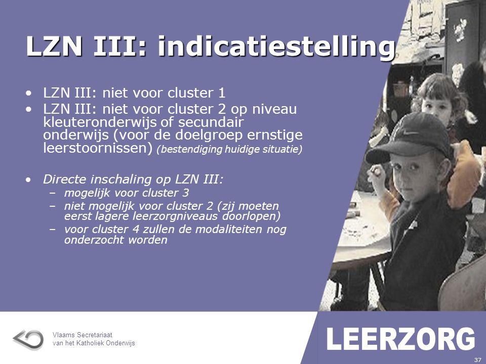 Vlaams Secretariaat van het Katholiek Onderwijs 38 LZN III: indicatiestelling toezicht op overgangsbeslissingen zowel in GO als in BuO; gelijkwaardig pakket middelen