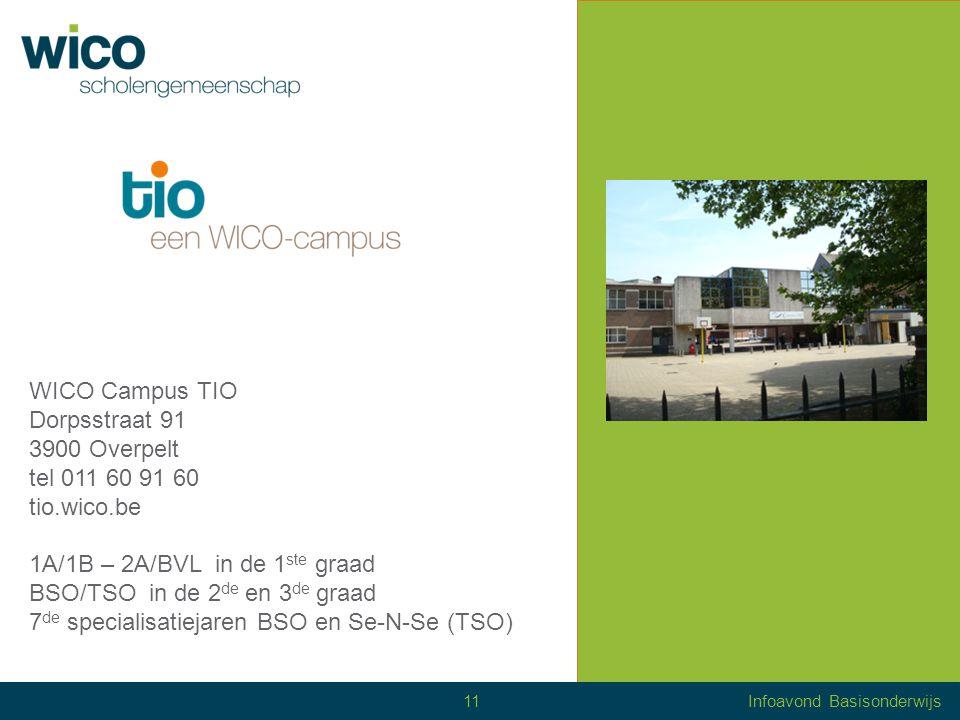 BBO – TIO Dorpsstraat 91 3900 Overpelt tel 011 60 91 60 bbo.wico.be Observatiejaar 2 de, 3 de, 4 de, 5 de jaar + alternerende opleiding HoeklasserInterieurbouwer MetselaarSchilder - decorateur Info stage 12Infoavond Basisonderwijs