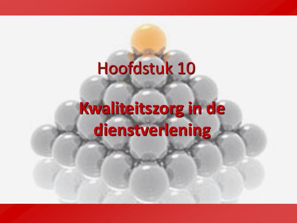 10.2 Vormen van dienstverlening Commerciële dienstverlening Handel Non-profitorganisaties Overheidsinstellingen