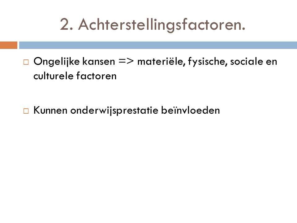 2.1.Thuiscultuur.