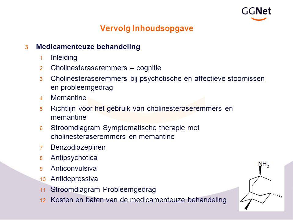 8 Vervolg Inhoudsopgave Overzicht aanbevelingen Bijlagen 1 Observatieschalen 2 Niet medicamenteuze interventies 3 Criteria voor depressie bij ziekte van Alzheimer 4 Gehanteerde afkortingen