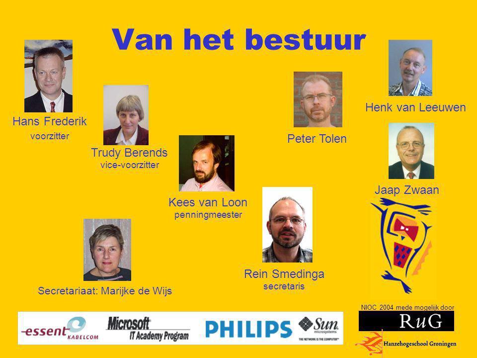 NIOC 2004 mede mogelijk door Geschiedenis Al meer dan twaalf jaar NIOC Maastricht 1990 en 1992 Den Haag 1994 en 1997 Enschede 1999 en 2002 Groningen 2004 en op weg naar 2006