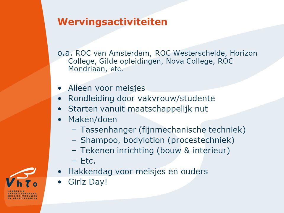 (Snijvlak)opleidingen ROC Zeeland, ROC Rivor, De Leijgraaf, Albeda- College, Alfa-College, etc.