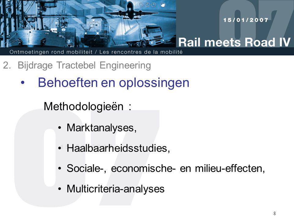 9 Optimalisatie van spoorverbinding van Antwerpen Liefkenshoekspoorwegtunnel 3.
