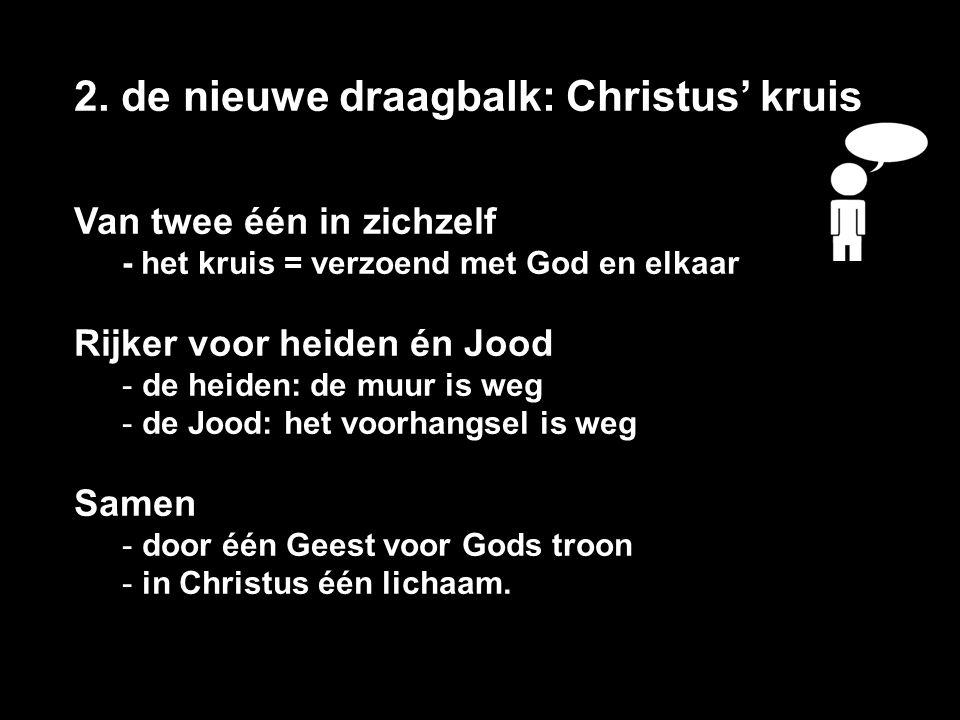 A.Let op de Hoeksteen Christus.