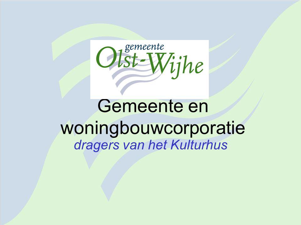 De gemeente Olst-Wijhe Aantal inwoners: 17.334 Oppervlakte: 11.500 ha 7 kernen en 6 buurtschappen Ligging: tussen de IJssel en Sallandse Heuvelrug; tussen Deventer en Zwolle