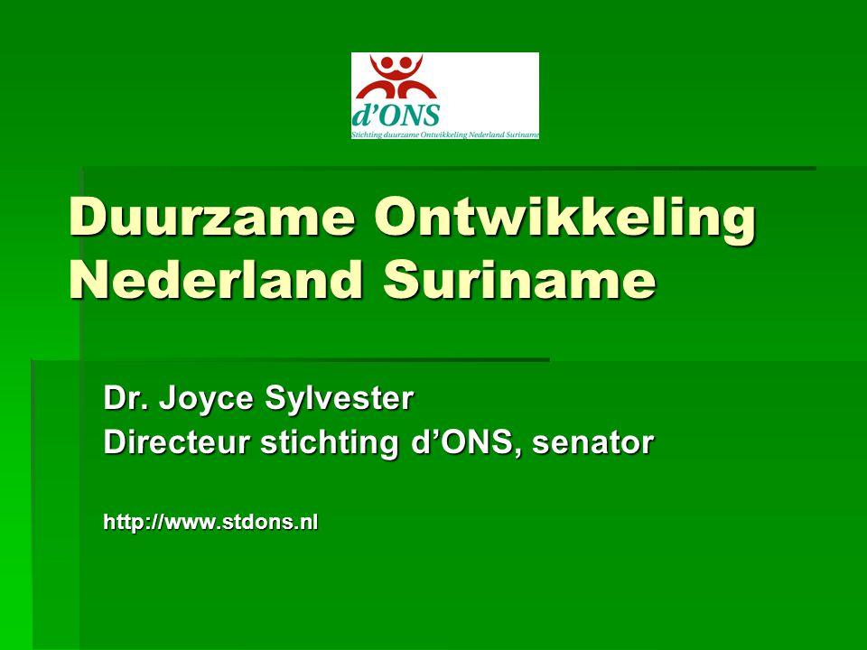 Geschiedenis  1987: Our Common Future van de Wereld Commission on Environment and Development van de VN (Brundtland- rapport) verschijnt  1992: Conferentie Rio inzake milieu en ontwikkeling (duurzame ontwikkeling)  2002: VN conferentie duurzame ontwikkeling Johannesburg, Zuid Afrika
