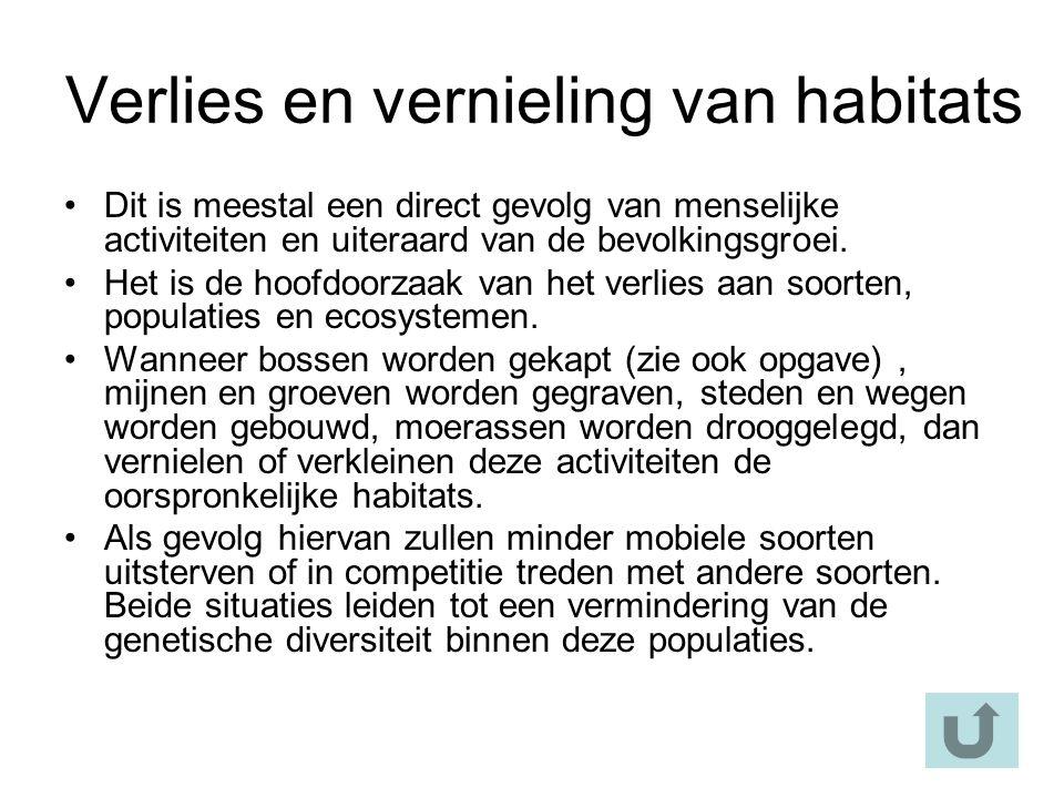 Verhoogde mobiliteit van exoten De exoten kunnen volledige ecosystemen verstoren en een belangrijke impact hebben op de populaties van inheemse planten en dieren.
