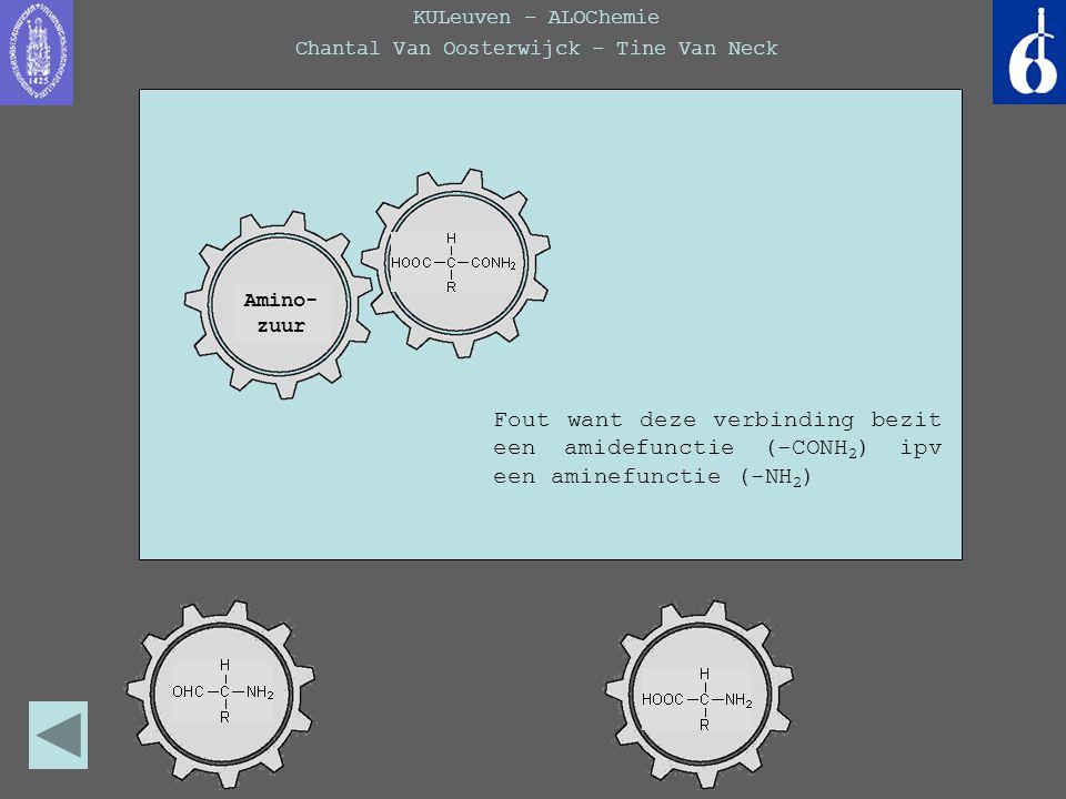 KULeuven – ALOChemie Chantal Van Oosterwijck – Tine Van Neck Wist je dat...