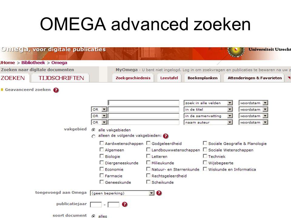 Contact met uw informatiespecialist Lydia Franken Bezoekadres: Universiteitsbibliotheek Utrecht Kamer 6.41, Heidelberglaan 3, 3584 CS Utrecht Post: P.O.