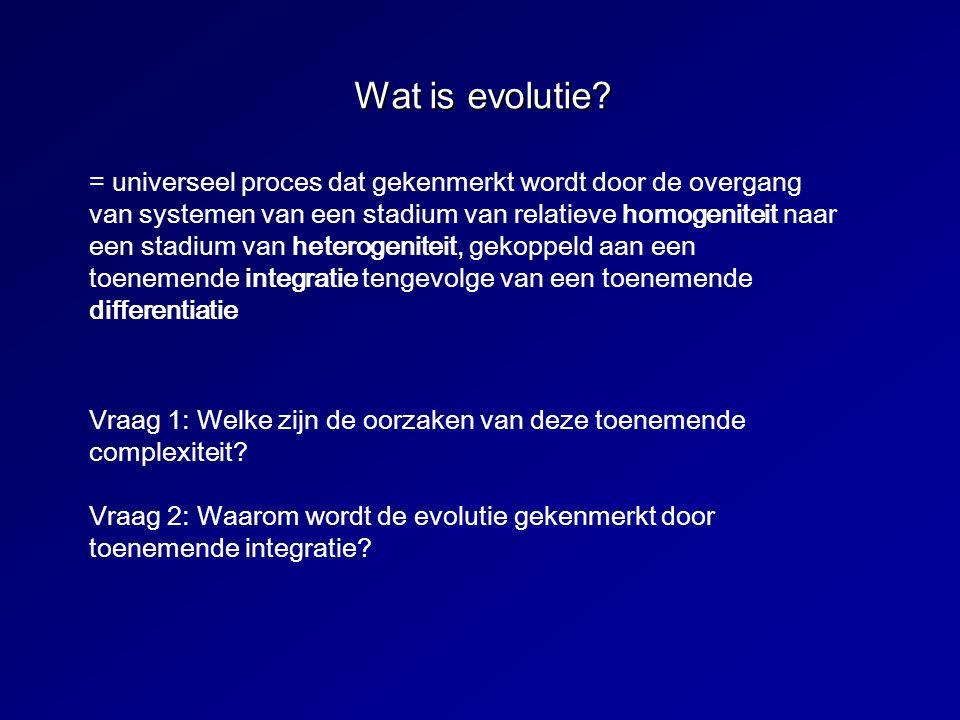 Vraag 1: Welke zijn de oorzaken van de toenemende complexiteit.
