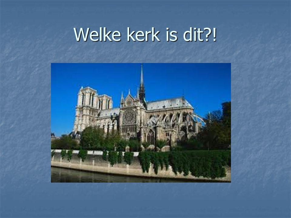 Parijs Notre Dame Notre Dame