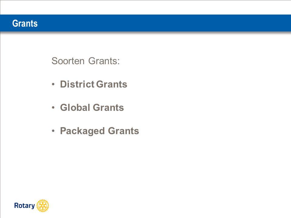 Grants Grants ondersteunen: Humanitaire projecten Scholarships Vocational Training Teams