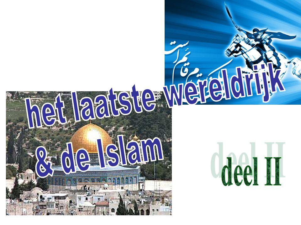 verwachting binnen Islam de komst van Al Mahdi (= de gids); beschreven in (vooral Sjiïtische) overleveringen (zgn.