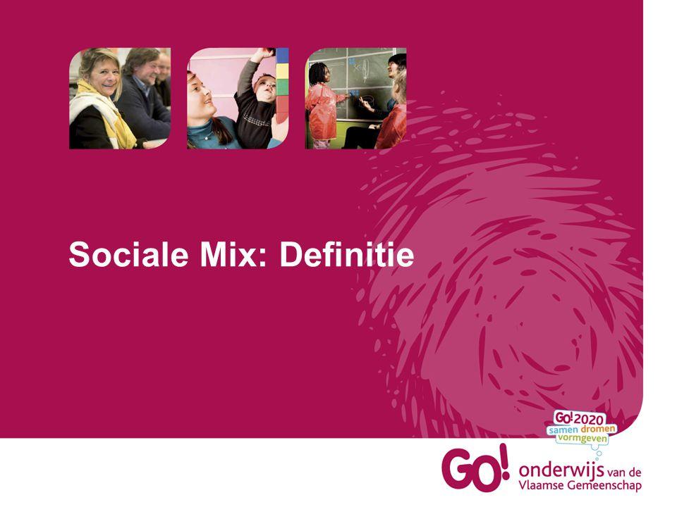 Wat is volgens jullie sociale mix.