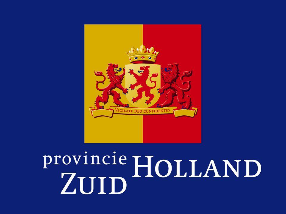 Zuid Holland meer op de fiets Fietsplan 2008 Presentatie 12-6- 08